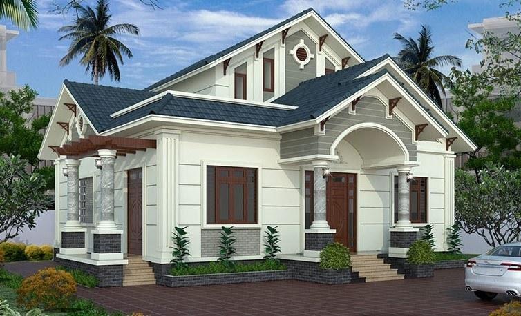 Ngói màu được các gia đình Việt yêu thích sử dụng trong các căn nhà hiện đại.