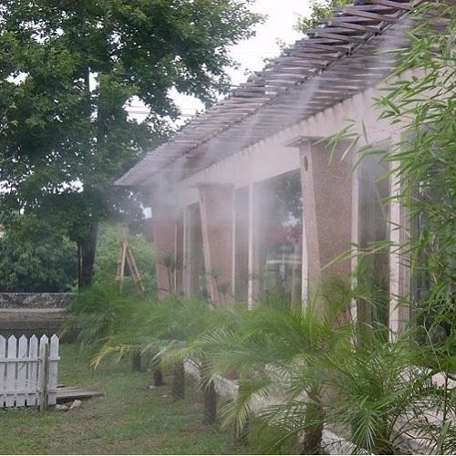 Hệ thống phun sương được ứng dụng rộng rãi trong nhiều lĩnh vực.