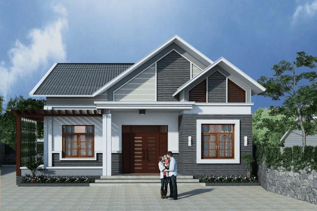 Làm nhà mái Thái được các gia đình Việt ưa chuộng hiện nay.