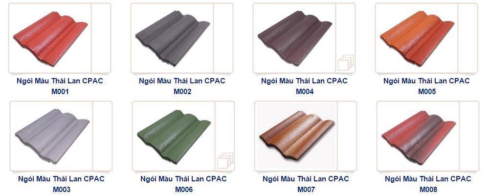 Ngói màu mang đến vẻ đẹp đa dạng cho ngôi nhà của bạn.