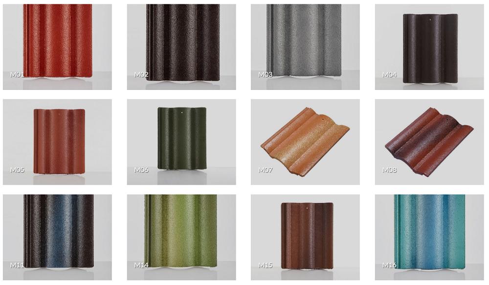 Ngói màu được sử dụng nhiều bởi những ưu điểm nổi trội.