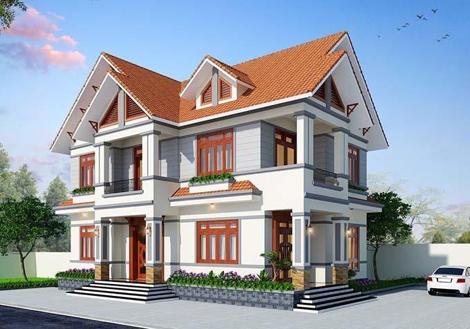 Lợp ngói phải có quy trình kỹ thuật mới tạo nên mái nhà bền chắc.
