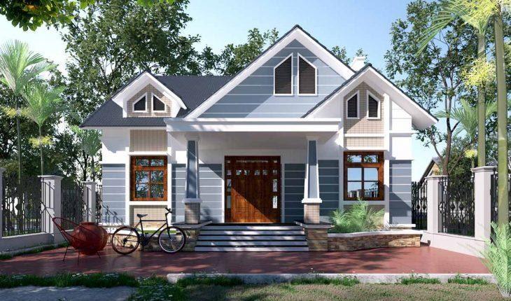 Tùy vào từng độ dốc mái nhà mà có chiều xuôi lợp ngói khác nhau.