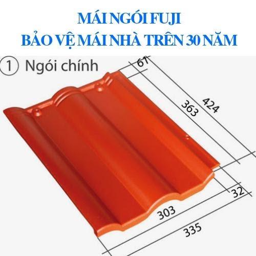 Ngói Fuji với độ bền màu lên tới 30 năm sử dụng