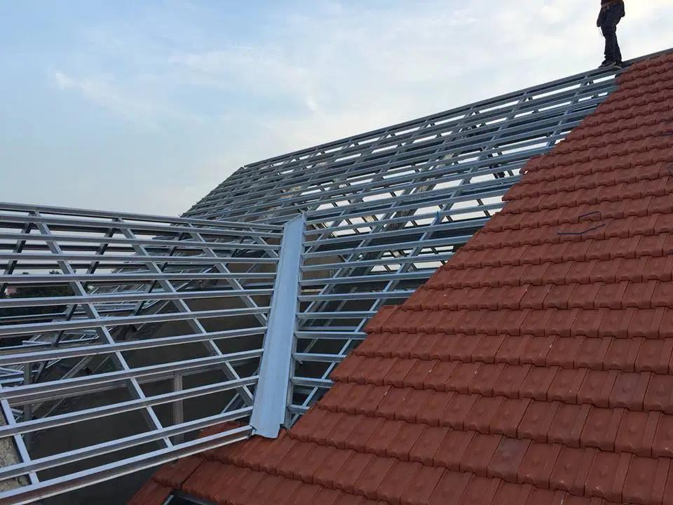 Đơn giá thi công phần mái nhà