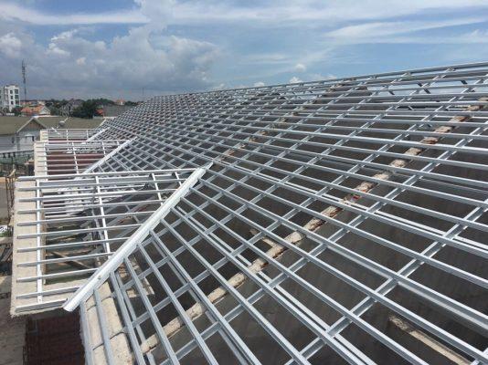Chi phí thi công mái nhà sẽ phụ thuộc vào nhiều yếu tố