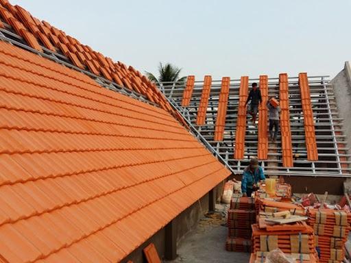 Đơn giá thi công ngói gạch Bông tại Mái Nhà Việt