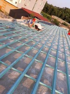 Khung kèo thép mái ngói Hà Nội được ứng dụng rộng rãi trên thị trường hiện nay