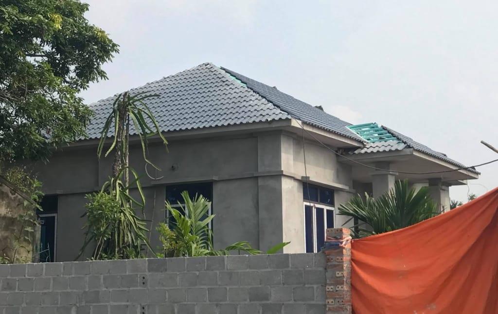 Làm mái nhà Hà Nội đảm bảo tính thân thiện với môi trường cao