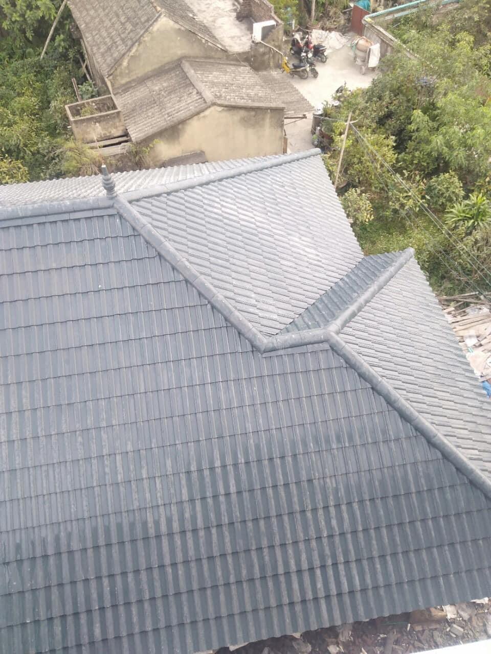 """Độ dốc tiêu chuẩn mái nhà phụ thuộc vào tỷ lệ """"vàng"""""""