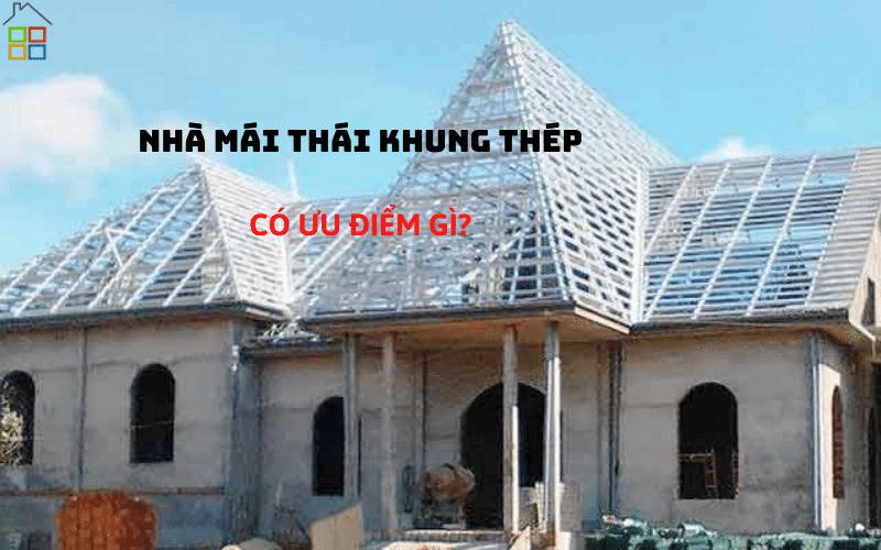 nha mai Thai khung thep